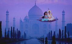Aladdin - Taj Mahal, Agra.