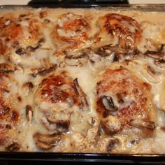 Smothered Chicken with Rice Recipe 2   Just A Pinch Recipes