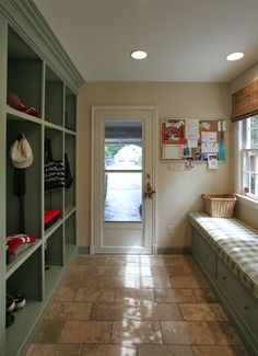 Are you looking for Rustic Farmhouse Mudroom Ideas? Maybe mudroom is a room that is rarely found in several homes, but many modern families consider . Mudroom, House, Home Addition, Grey Laundry Rooms, Room Renovation, Home Remodeling, New Homes, Home Renovation, Mudroom Laundry Room