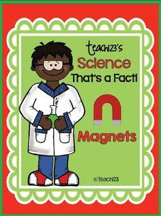 Fern Freebie Friday ~ Science: That's a Fact - Magnets #science #handwriting $0 FREEBIE www.FernSmithsClassroomIdeas.com