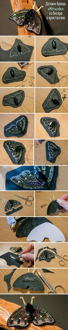 Embroidery butterfly bead 34 Ideas for 2019 - Em. - Embroidery butterfly bead 34 Ideas for 2019 – Embroidery butterfly bead 34 Ideas for 2019 - Bead Embroidery Tutorial, Bead Embroidery Jewelry, Beaded Embroidery, Beaded Jewelry, Embroidery Ideas, Butterfly Embroidery, Jewellery, Beading Projects, Beading Tutorials
