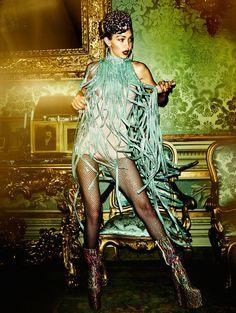 ☆Gigi Hadid by Mario Testino for Vogue Paris November 2016