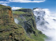 Drakensberg Mountains, South Africa/// in Natal where I live