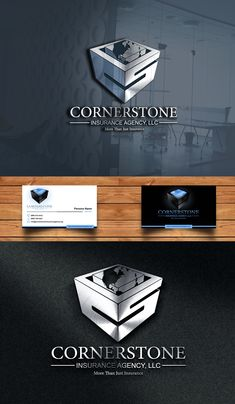 See Logo and Business Card Design entries, selected winner and the client's testimonial for 'Cornerstone Insurance Agenc, LLC' Logo and Business Card Design contest. Civil Engineering Logo, Business Card Design, Business Cards, Insurance Agency, Design Projects, Web Design, Lipsense Business Cards, Design Web, Website Designs