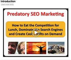 Predatory SEO Review - Predatory SEO Review will tell you what is included in this product, as well as, the pros and cons of the course. http://traceylhausel.com/marketing-systemstraining/predatory-seo-review/