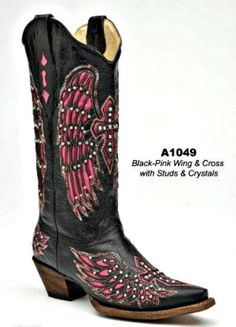 Rivertrail Mercantile - Corral Black-Pink Wing
