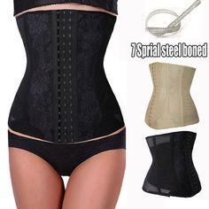 Afslanken Body Taille Shaper Tummy Trimmer Black Steel Bone Taille Trainer Cincher Vrouwen Girdles Afvallen Taille Trainer Korsetten
