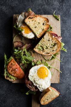 The 9 Best Sandwich Recipes for Making Lunch the Standout Meal of the Day - - We can't get enough of sandwiches, and that's why we collected our nine favorite recipes that do the title justice. Read on to see our picks. Best Sandwich Recipes, Comidas Fitness, Plat Vegan, Good Food, Yummy Food, Think Food, Cooking Recipes, Healthy Recipes, Meal Recipes