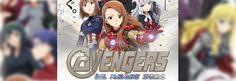 Capitão América: Guerra Civil em versão anime! - http://www.garotasgeeks.com/capitao-america-guerra-civil-transformado-em-anime/