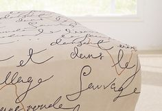 Photo of Stretch Pen Pal by Waverly™ Ottoman Slipcover