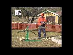 Brumar - Cavalletto Tagliatronchi Timber Clamp - YouTube