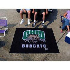 Ohio Bobcats NCAA Tailgater Floor Mat (5'x6')