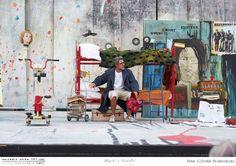 PROVE // LA BOHÈME // 2012 // Foto Tabocchini. L'opera di Giacomo Puccini allo Sferisterio di Macerata per la regia di Leo Muscato. #allieviemaestri #boheme #altrochelopera www.sferisterio.it