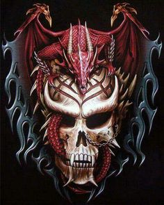 COOL AS HELL, HE MAY BE IN HELL, DRAGON HELL! M,W,