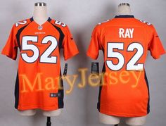 """$25.88 per one, welcome email """"MaryJersey"""" at maryjerseyelway@gmail.com for 2015 NFL Draft Nike Broncos 52 Shane Ray Orange Team Color Women Stitched New Elite Jersey"""