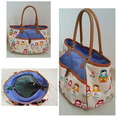Russian Doll Shoulder Bag