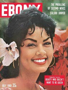 Jet Magazine, Black Magazine, Black Philosophers, Ebony Magazine Cover, Magazine Covers, Hotel Beau Rivage, Vintage Black Glamour, Vintage Beauty, Black Leaders
