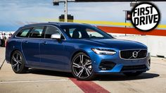 The 2017 Volvo V90 R-Design Lives Up To Its Looks