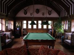 Snooker Room Sorn Castle | Flickr - Photo Sharing!