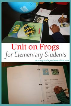 Unit on Frogs for Elementary Students www.growingcuriouskids.com