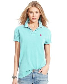 Ralph Lauren offers luxury and designer men's and women's clothing, kids' clothing, and baby clothes. Polo Shirt Outfits, Polo Outfit, Polo Shirt Women, Polo T Shirts, Ralph Lauren Style, Polo Ralph Lauren, Shirt Tucked In, Outfits Damen, Street Style Women
