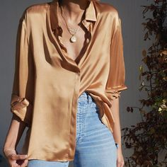 33 ideas style casual chic summer blouses for 2019 Women's Summer Fashion, Fashion Week, Look Fashion, Autumn Fashion, Womens Fashion, Cheap Fashion, Feminine Fashion, High Fashion, Fashion Tips