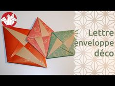 Origami - Lettre-enveloppe déco de Tomoko Fuse [Senbazuru] - YouTube