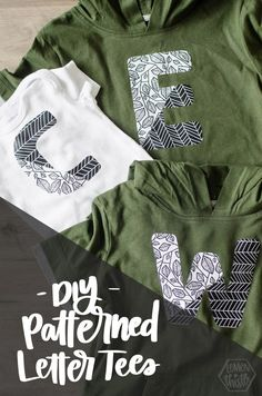 DIY three patterned