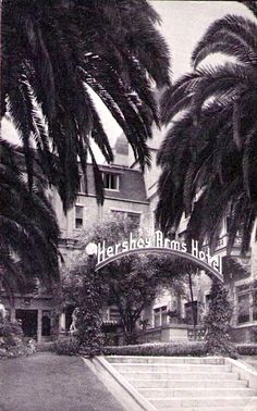 In 1902, Almira Hershey, owner of the Hollywood Hotel, also built the first hotel on Wilshire Boulevard, the Hershey Arms Hotel at 2600 Wilshire Blvd, two blocks west of MacArthur Park.