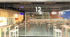 Restaurante-Terraza-Bar Aguascalientes, Mex.------Restaurant Terrace Bar Basketball Court, Bar, Restaurants, Blue Prints