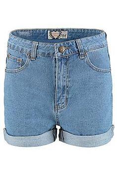 Rosina High Rise Mom Shorts