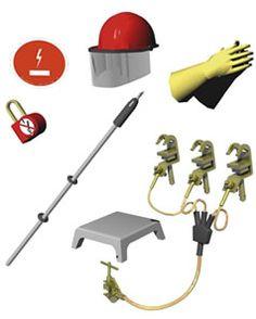 SEGURIDAD CON LA ELECTRICIDAD: Equipo de protección personal, mantenimiento y almacenamiento.