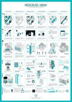 Lámina 1. Microcirugía urbana, reinventando Móstoles Centro por Macarena Carrascosa, Jesús Florencio Gómez, Francisco Javier González y Adrián López. Imagen cortesía de los autores.