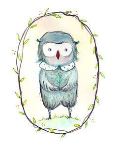'Owl' by Paola Zakimi