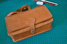 leather satchel-SR