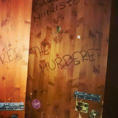 Inside ladies room ät #Andorra #kino #Helsinki #Eerikinkatu