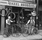 The Skeel Brothers shop deals with the vast number of bicycles travelling around Cambridge every day.