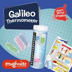 Galileo Thermometer Science Kit - Toys and Games Ireland Make Your Own, Make It Yourself, How To Make, Galileo Thermometer, Learn Physics, Science Kits, Sink In, Small Bottles, 9 Year Olds