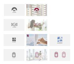 Логотип «LG Окна» - Разработка логотипа для компании по производству окон с LG системой закрывания