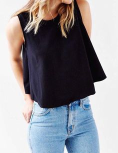 summer outfits black top jeans
