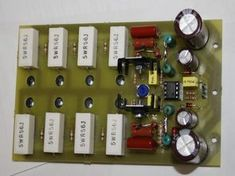 Despite the apparent simplicity, this amplifier showed excellent quality parameters, which allows you to safely rank it as a Hi-Fi equipment. Electronics Projects, Electronic Circuit Projects, Ab Circuit, Circuit Diagram, Class D Amplifier, Stereo Amplifier, Speaker Box Design, Spectrum Analyzer, Electronic Schematics