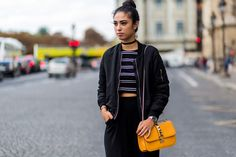 All the Latest Street Style Shots From Paris Fashion Week via @WhoWhatWear