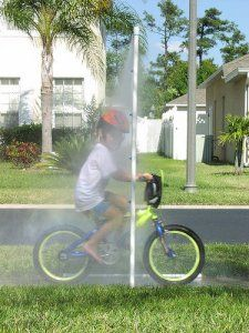 PVC Sprinkler water toy: 10 Summer water activities for kids | #BabyCenterBlog #SummerFun