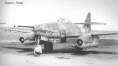 Me 262A-1a with 50mm Rheinmetall Bk 5 canon.