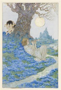 Gustave Adolphe Mossa, LE JEUNE PÂTRE ET LE BOUC