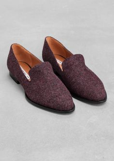 & Other Stories | Wool-Effect Loafers