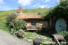the hobbiton movie set Hobbit Land, The Hobbit, Hobbit Door, I Love The Lord, Humble Abode, Middle Earth, New Zealand, Snug, Alternative