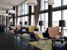 Scenario Interiørarkitekter have completed the interior design of the Rica Hotel Narvik in Norway.