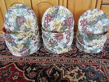 3 HAT BOXES ENGLISH MADE, CLOTH COVERED STACKING / NESTING LADIES VINTAGE 1980S Vintage Hat Boxes, 3 Hat, Vintage Luggage, 1980s, English, Lady, English Language