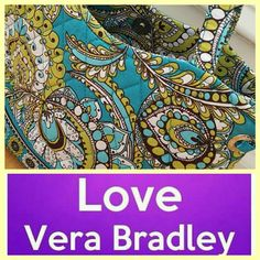Vera Bradley Shoulder Purse This cute & comfortable purse that is perfect for spring. It features a mix of green, blue & white.  Its brand new w/out tags. Please ask any questions. Thanks for coming by. Vera Bradley Bags Shoulder Bags